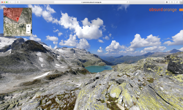 15 Gigapixel Panorama Hohe Tauern, Salzburger Land, Österreich