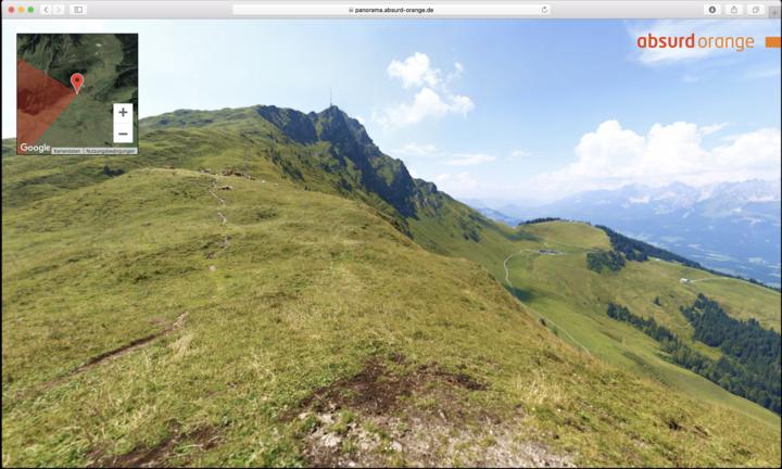 Gigapixel Panorama Kitzbüheler Horn, Österreich