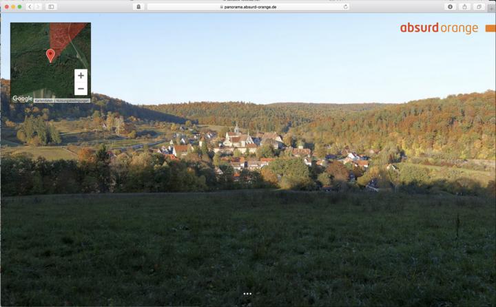 Gigapixel Panorama Kloster Bebenhausen