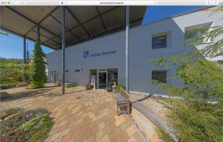 Gigapixel Panorama Bestattungsinstitut Rilling und Partner Tübingen