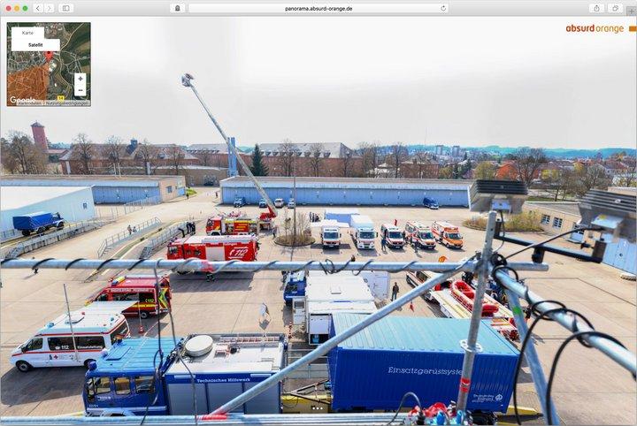 Gigapixel Panorama Technisches Hilfswerk THW Horb