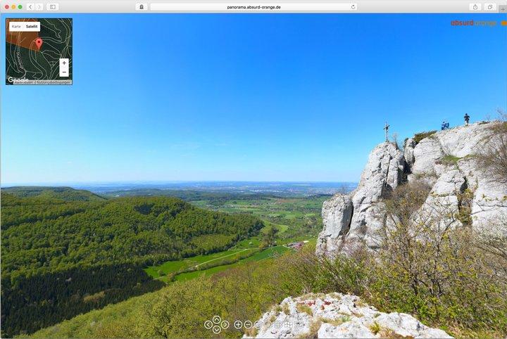Gigapixel Panorama Wackerstein Pfullingen