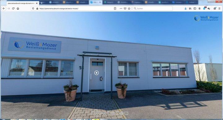 Virtueller Rundgang Bestattungsinstitut Weiß & Mozer