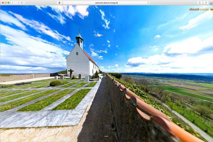 Gigapixel Panorama Wurmlinger Kapelle